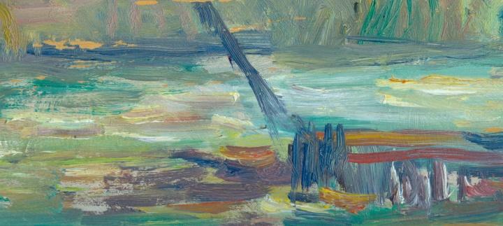 Etude de peinture, analyse et techniques du peintre Albert (…)